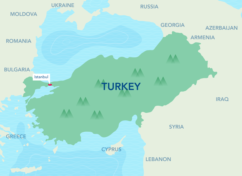 Map Of Georgia 7 Wonders.Soliman Travel Turkey